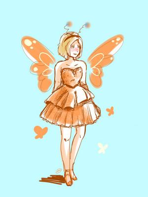 Cress as a fairy