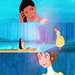 Crossover Princesses - disney-crossover icon