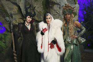 Cruella De Vil, Maleficent, Ursula