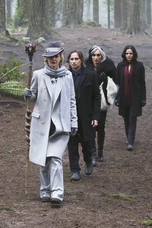 Cruella De Vil, Regina, Maleficent, Rumpel