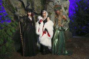 Cruella De Vil, Ursula, Maleficent,