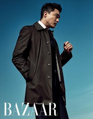 Daniel Henney - Harper Bazaar Magazine
