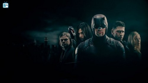 "Daredevil (Netflix) 壁紙 titled Daredevil Season 2 Cast ""The Punisher"" Official Picture"