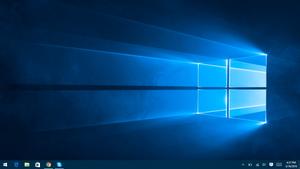 Default Windows 10 Desktop
