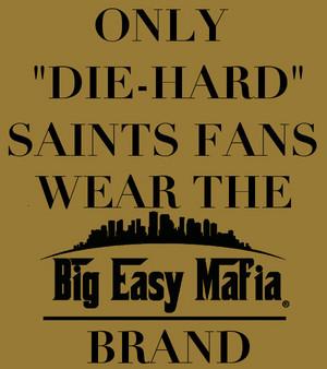 Die-Hard Saints fan