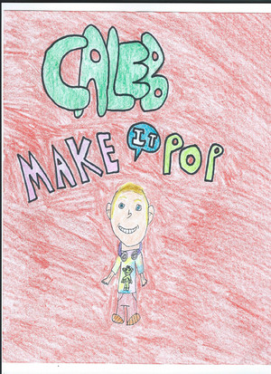 Drawing Of Dale Whibley As Caleb Davis