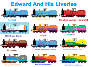 Edward And His Liveries