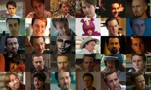 Edward Norton movie collage