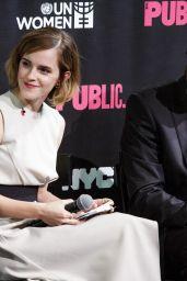 Emma In HeForShe Magenta for International Women's दिन on March 8, 2016 in New York City.