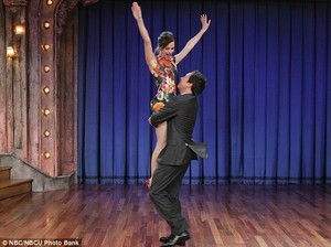 Emma dancing with Jimmy Fallon 3