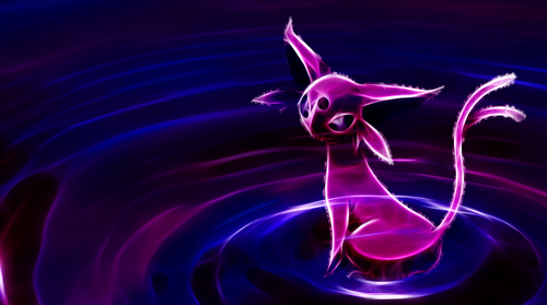 pokemon wallpaper titled Espeon