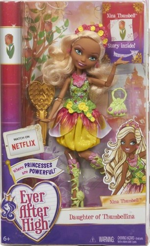 एवर आफ्टर हाइ वॉलपेपर titled Ever After High Nina Thumbell doll