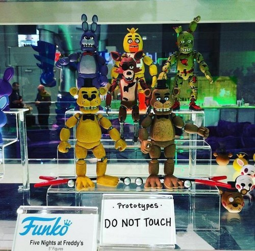 Five nights at freddy s images figues collect 5 and build springtrap