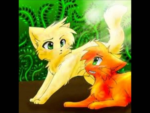 WARRIOR CATS Wallpaper Containing Anime Titled Firestar And Sandstorm