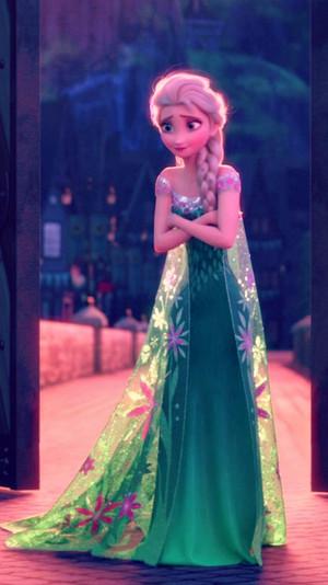 La Reine des Neiges Fever Elsa Phone fond d'écran