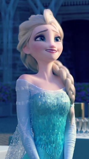 frozen Fever Elsa Phone fondo de pantalla