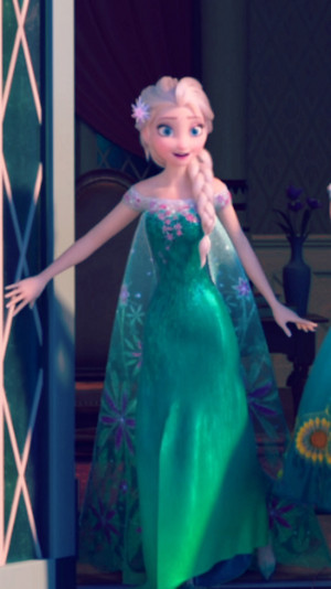 ফ্রোজেন Fever Elsa Phone দেওয়ালপত্র
