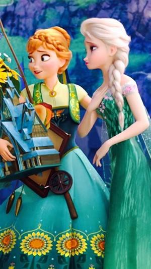 Frozen Fever Phone kertas dinding