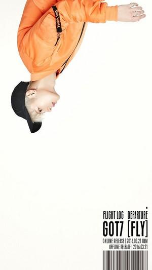 GOT7 drop individual teaser تصاویر for 'Flight Log: Departure'