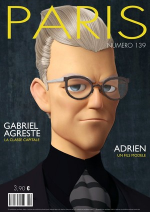 Gabriel Agreste Magazine Cover
