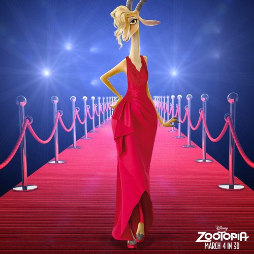 Disney's Zootopia Hintergrund possibly containing a abendessen dress entitled gazelle
