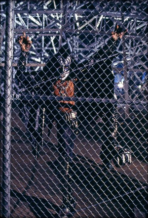 Gene ~Valencia, California…May 1978 (KISS Meets The Phantom of the Park -Magic Mountain Amusement