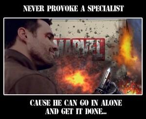 Grant Ward VS Marvel