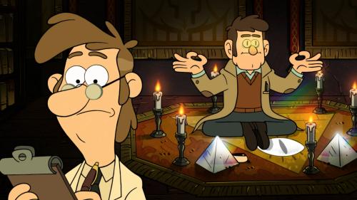 Gravity Falls- Um Verão de Mistérios