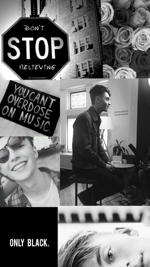Greyson chance lock screen i made