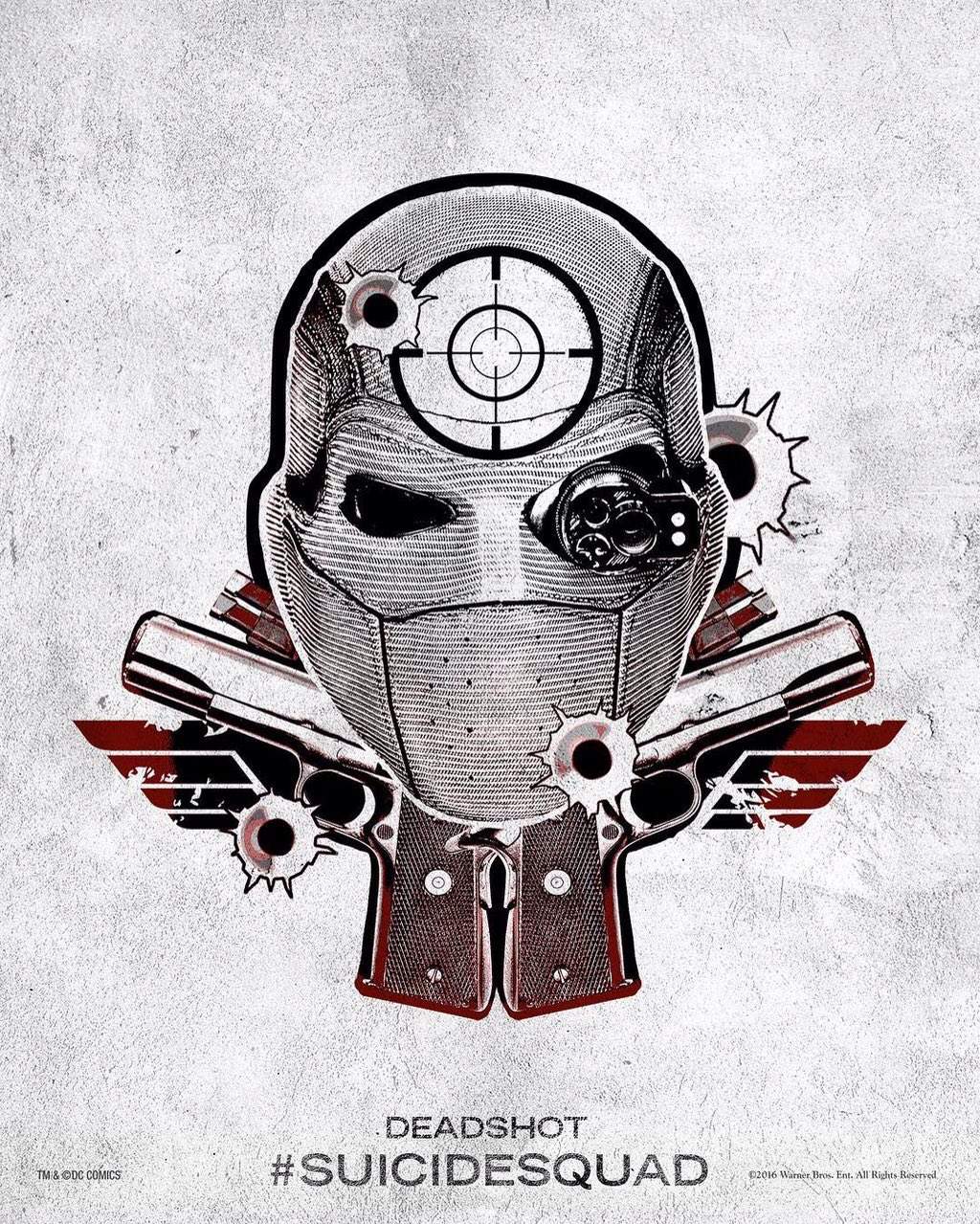 Harley's Tattoo Parlor Posters - Deadshot