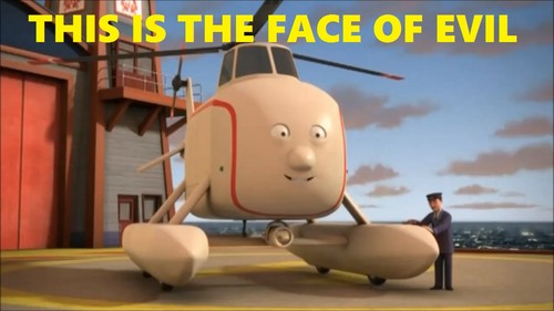 Thomas the Tank Engine Hintergrund called Harold Meme