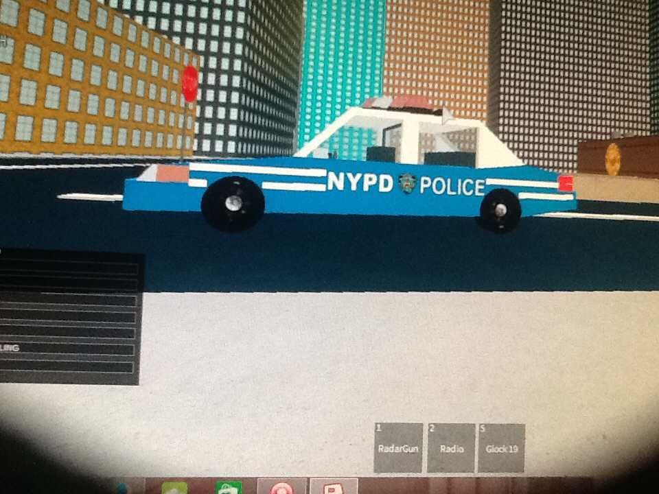 Humphreys Police Car