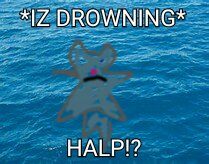 I got bored, and bluestar is drowning.