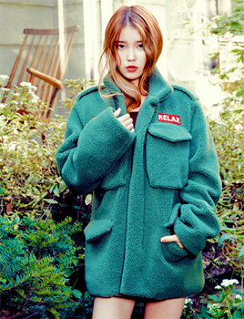아이유 in Elle Korea November 2013
