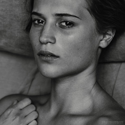 Alicia Vikander wallpaper possibly with a portrait titled Interview 2015 photoshoot