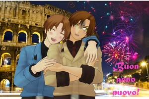 Italy Brothers Buon Anno Nuovo