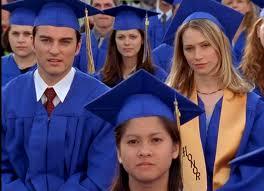 Jack & Andie at their graduation
