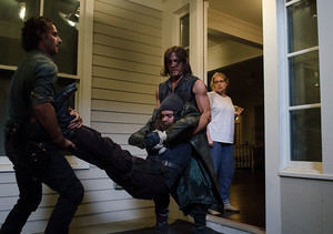 Jesus, Daryl, Rick and Denise