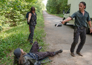 Jesus, Daryl and Rick