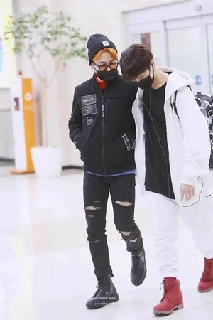 JiKook @ airport ♥