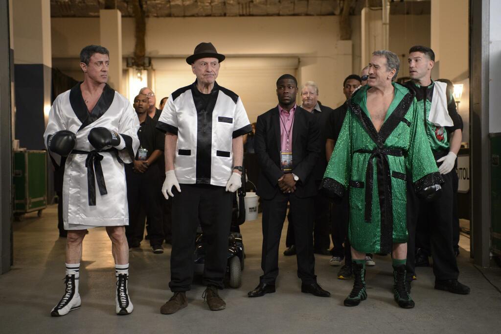 Jon Bernthal as BJ in Grudge Match