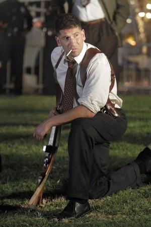 Jon Bernthal as Joe Teague in Mob City