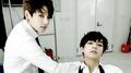Jungkookie and V~ ♥ - bts photo