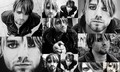 KC Eye Liner Collage - kurt-cobain fan art