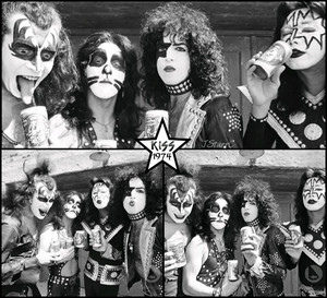 KISS ~Birmingham, Michigan…May 13,1974 (Creem Magazine) w/makeup