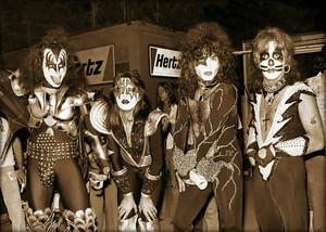Kiss ~Jersey City, New Jersey…July 10, 1976