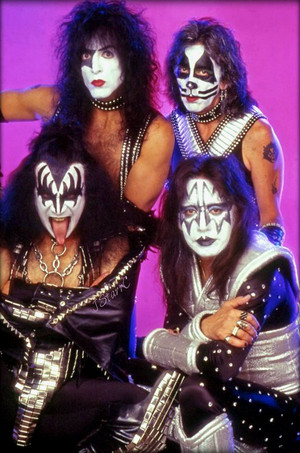 KISS ~May 1996 (Reunion تصویر session)