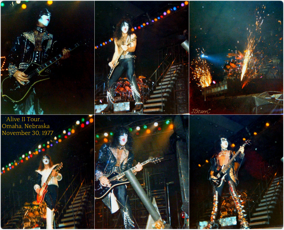 Kiss Images Kiss Omaha Nebraskanovember 30 1977 Alive Ii Tour