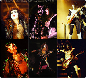 KISS ~San Diego, California…August 19, 1977 (Love Gun tour)