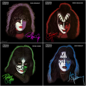 吻乐队(Kiss) ~September 18, 1978 (solo albums)